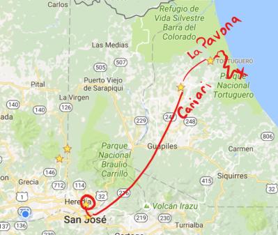 Path to Tortuguero