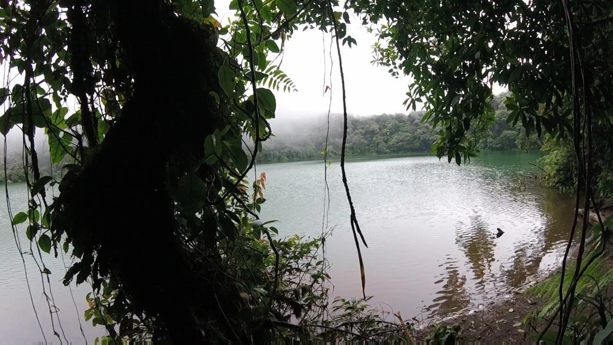 Crater Lake of Cerro Chato in Costa Rica