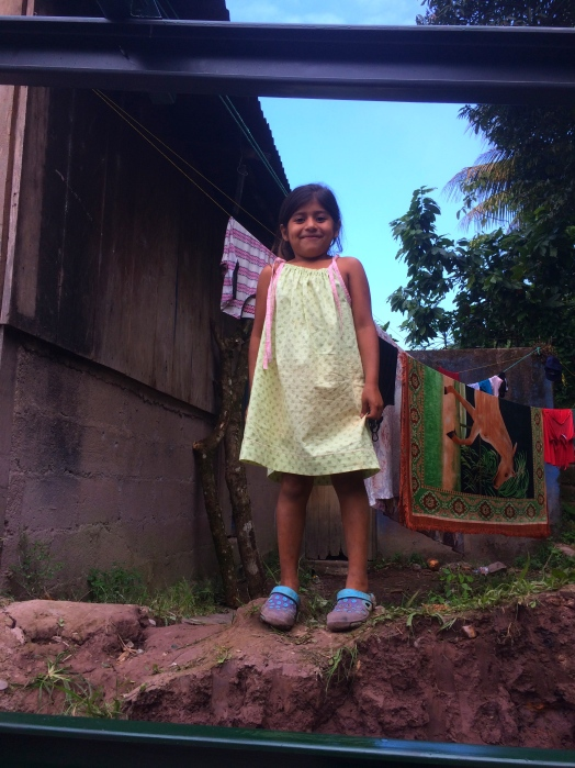 a new dress and a new home, replacing homes of plastic