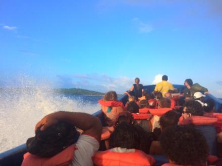 Panga ride to Big Corn Island