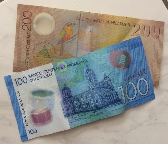 Nicaragua money