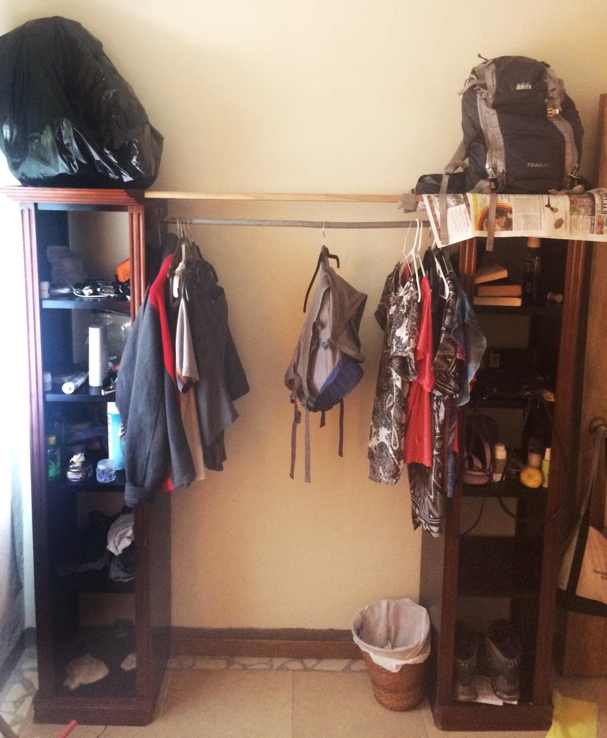 all our stuff in Boquete Panama