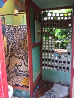 Accommodations with a cool shower