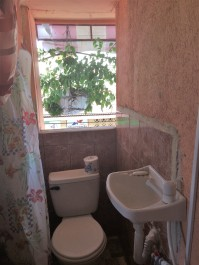 Accommodations with a tiny bathroom
