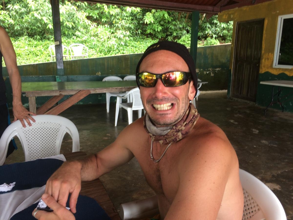 our divemaster in Coiba