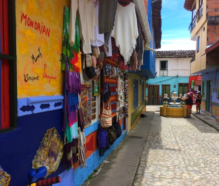 Street of Guatape