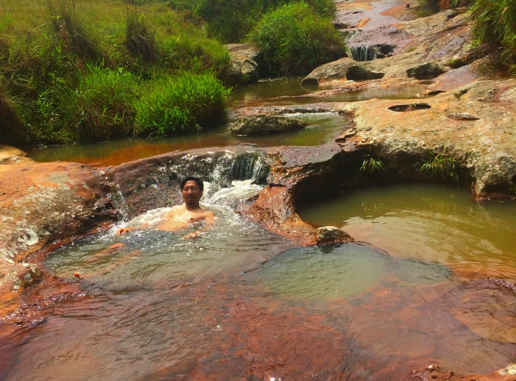 Las Gachas jacuzzi near Guadalupe, Colombia