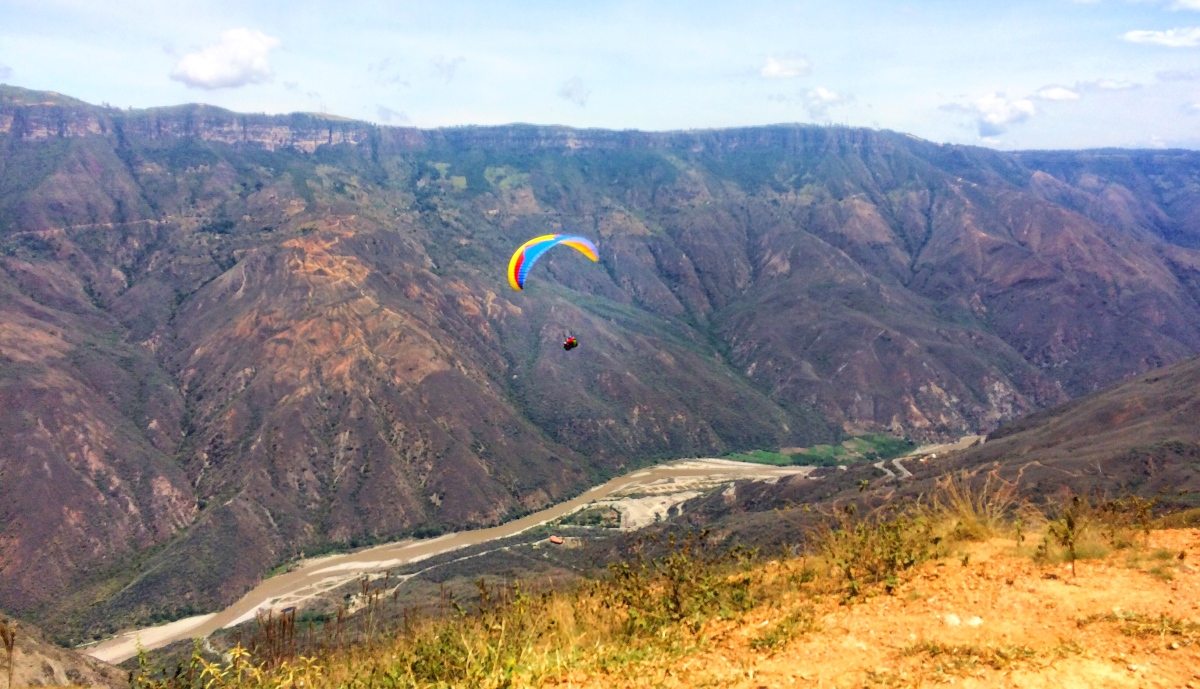 I Ate An Ant And Flew Off A Cliff Chicamocha Canyon Amp San