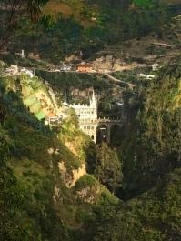 Las Lajas Sanctuary, Ipiales Colombia