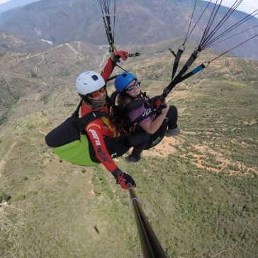 Paragliding in Chicamocha Canyon
