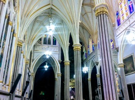 Primary chapel of Las Lajas Sanctuary