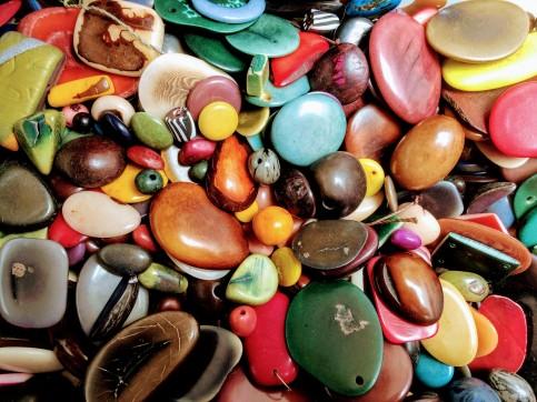 Tagua nuts transformed