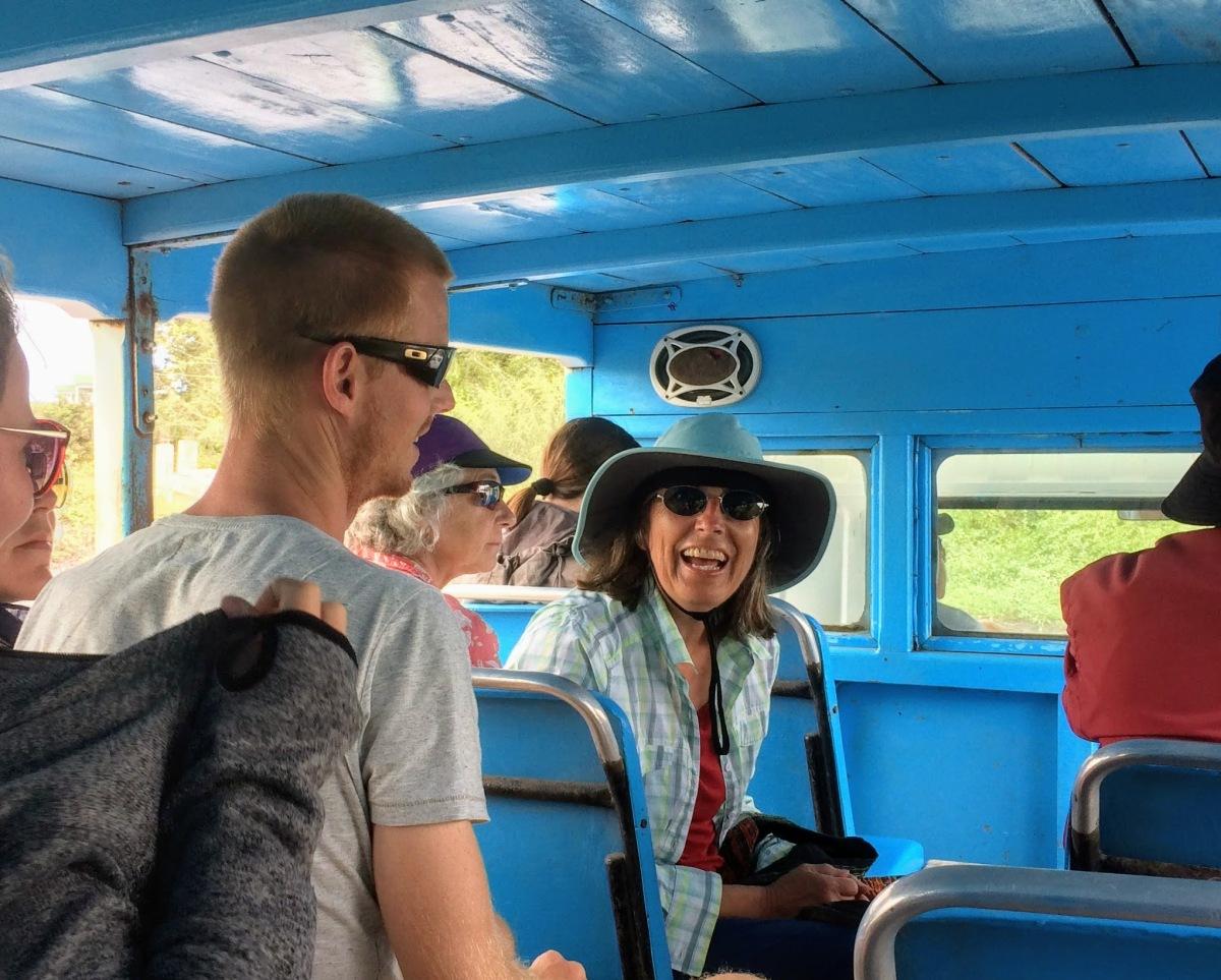 Kay in Galapagos